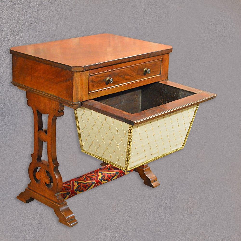 ... Antique Sewing Table ... - Antique Sewing Table, Victorian Work Table, - Antiques Atlas