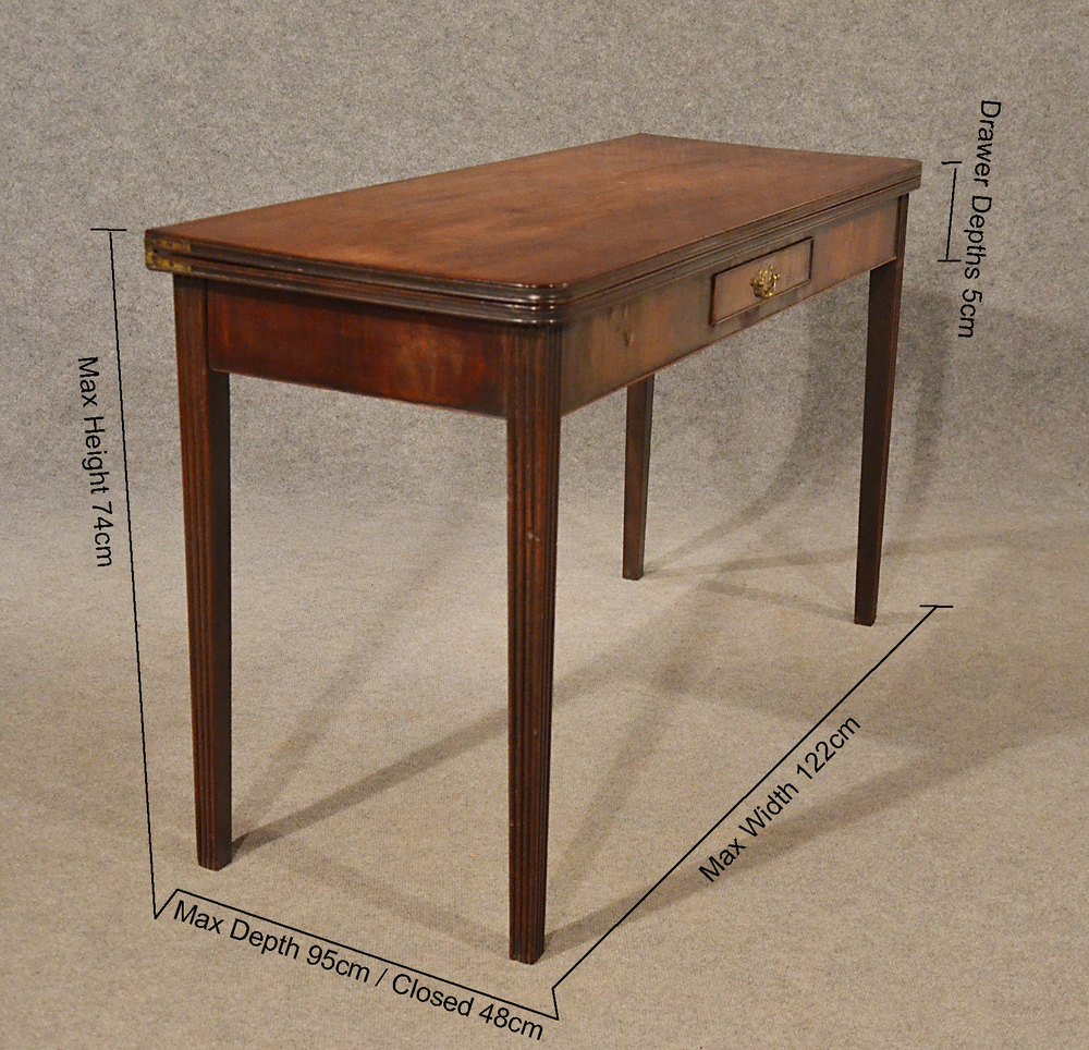 ... Card Tables Antique Side ...