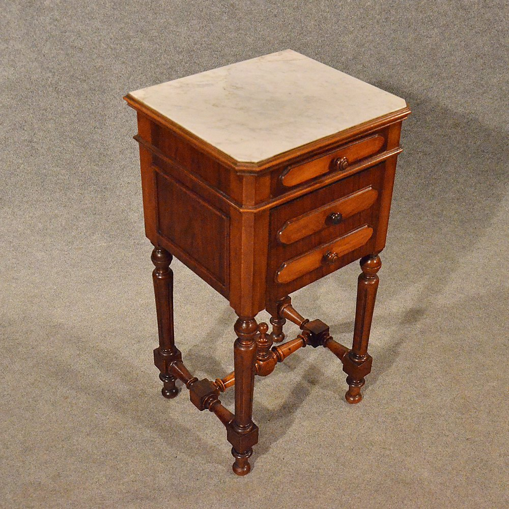 Antique Small Cabinet Side Table Bedside - Antique Small Cabinet Antique Furniture