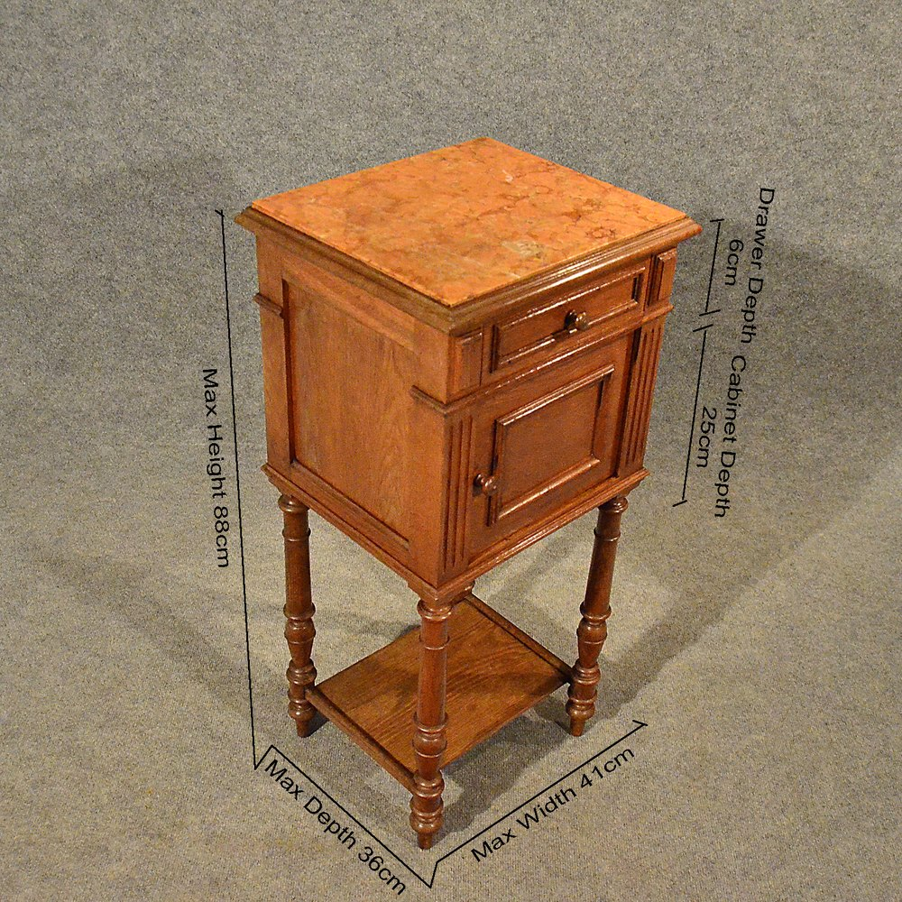 Merveilleux Antique Small Cabinet Side Table Bedside Cupboard Antique Bedside Cabinets  ...