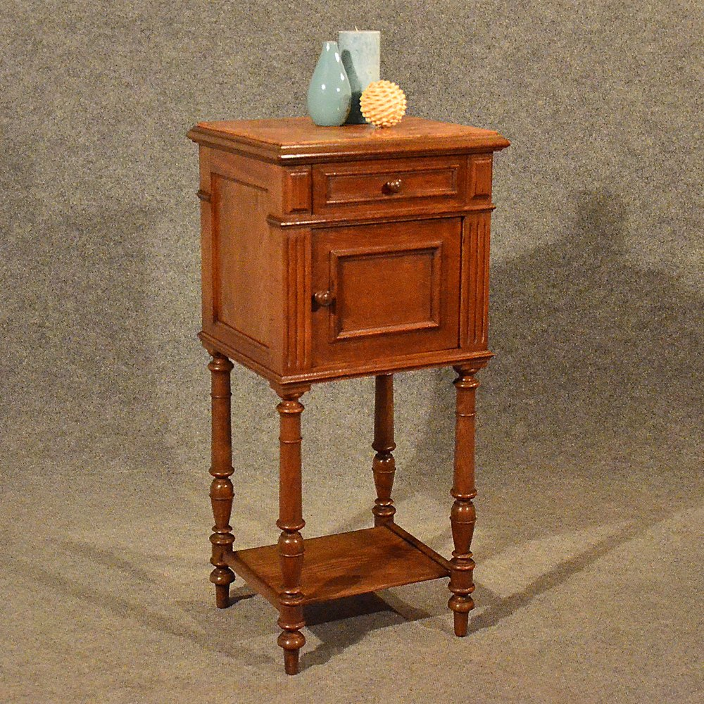 Antique Small Cabinet Side Table Bedside Cupboard