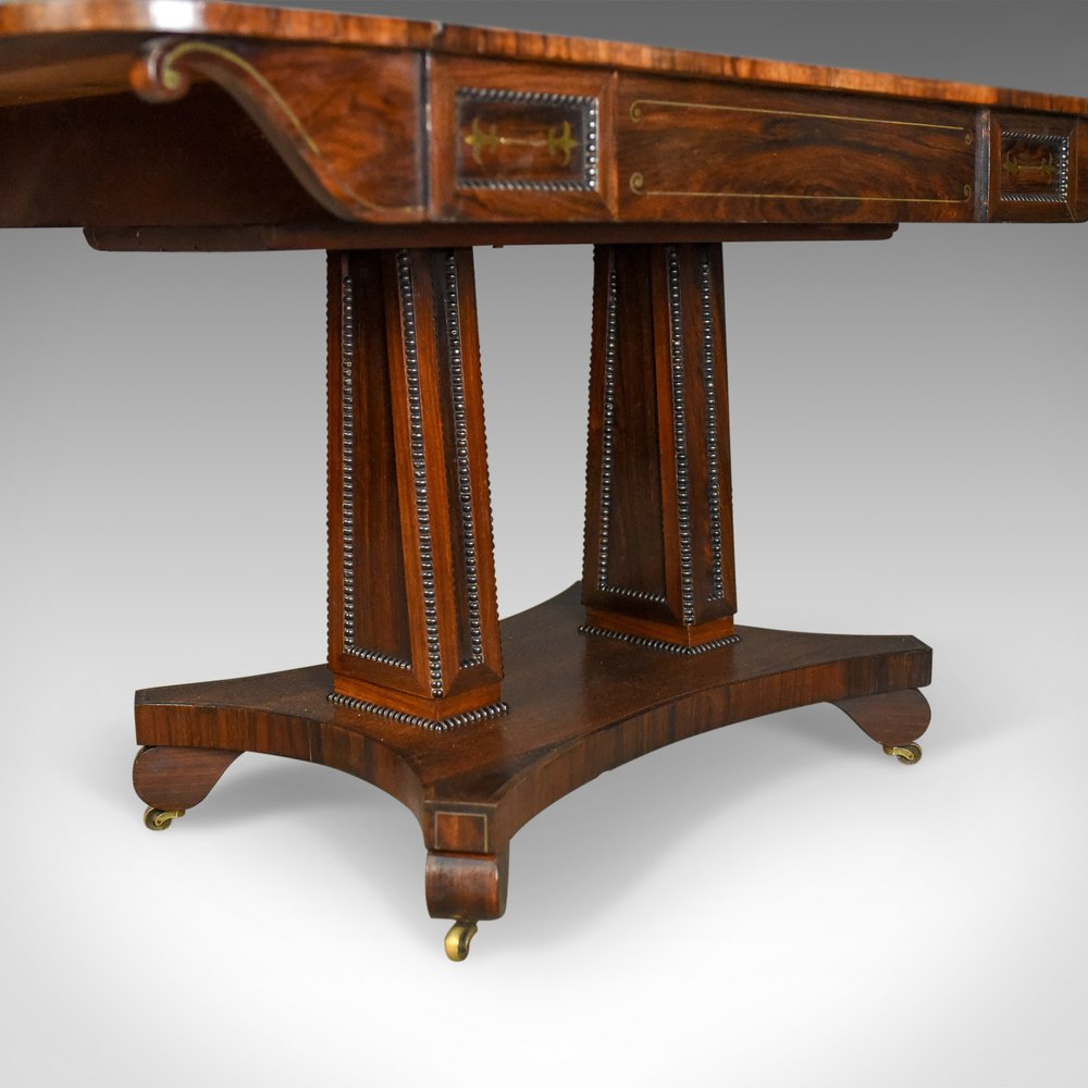 Antique sofa table rosewood english regency antiques for Sofa table antique