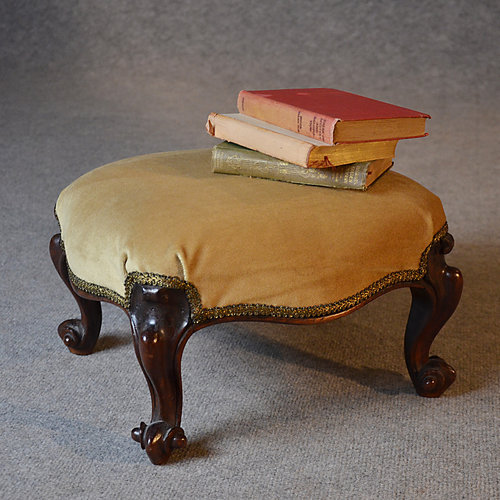 Edwardian (1901-1910) Bentwood Footstool Or Gout Stool.