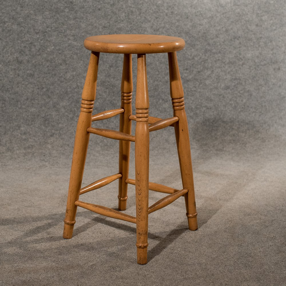 vintage bar stool antique bar machinist laboratory stool antiques atlas 3162