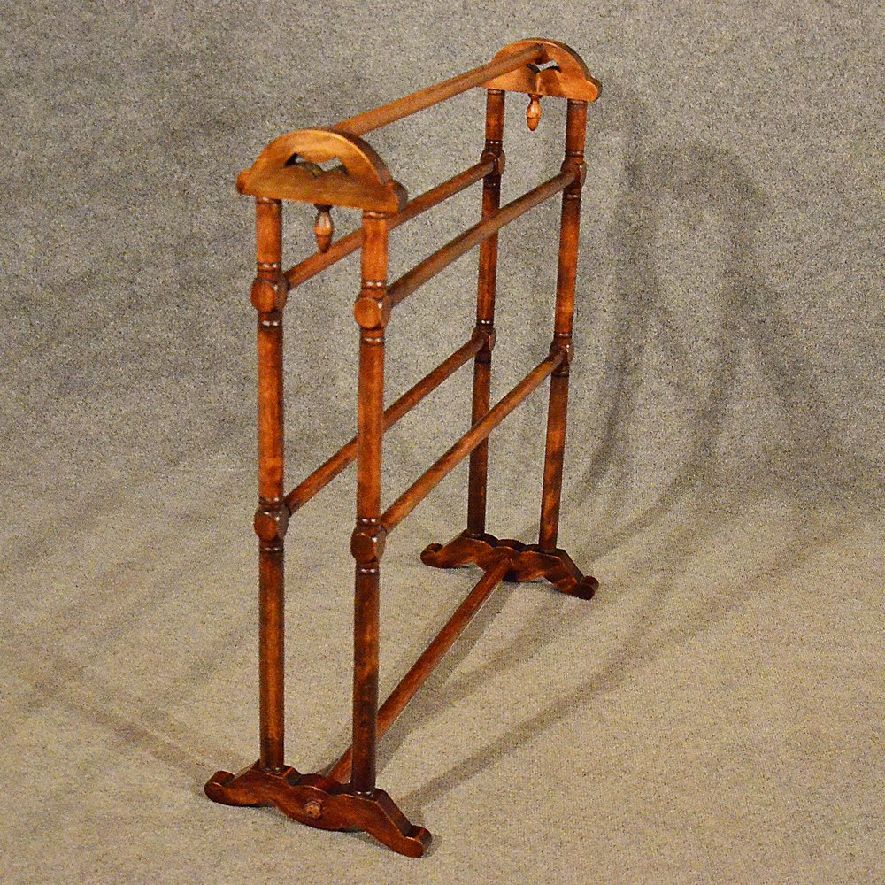 Antique Towel Rack Rail Clothes Horse Stand Dryer