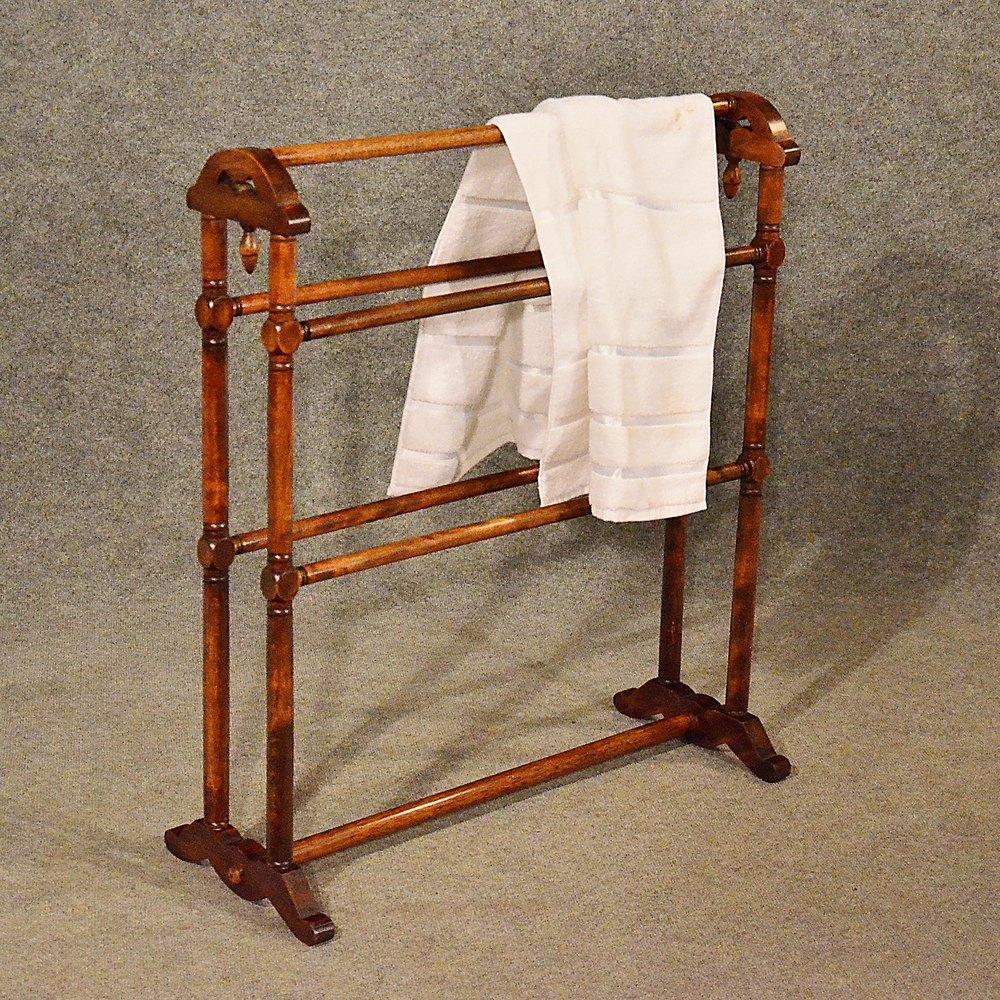 Antique Towel Rack Rail Clothes Horse