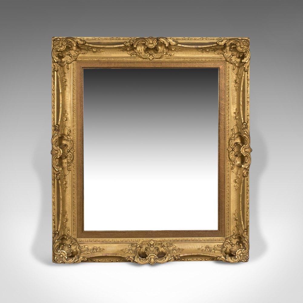Antiques Atlas - Antique Wall Mirror, English, Victorian ...
