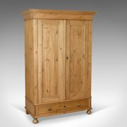 ... Armoire CabinetMersham Manor Antiques · Antique Wardrobe French Pine C