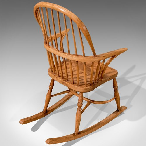 Cool Antique Windsor Rocking Chair Ash Elm C1870 Antiques Atlas Pdpeps Interior Chair Design Pdpepsorg
