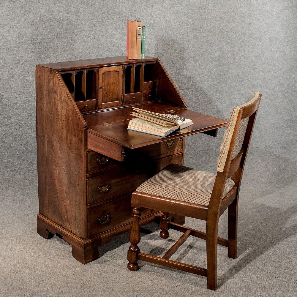 antique writing desk bureau chest english georgian antiques atlas. Black Bedroom Furniture Sets. Home Design Ideas
