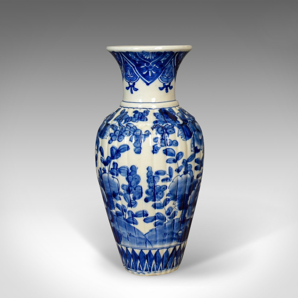 Antiques atlas blue and white chinese flower vase ceramic china blue and white chinese flower vase ceramic reviewsmspy
