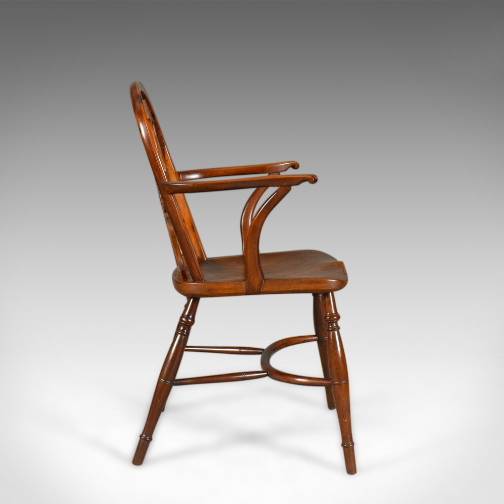 Chiltern bodgers chair high wycombe english yew for Furniture high wycombe