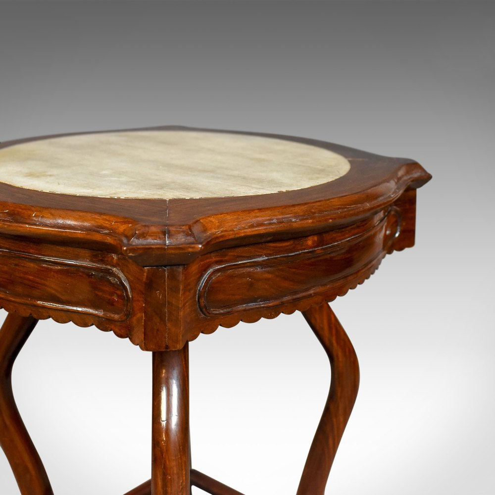 ... Antique Side Table ...