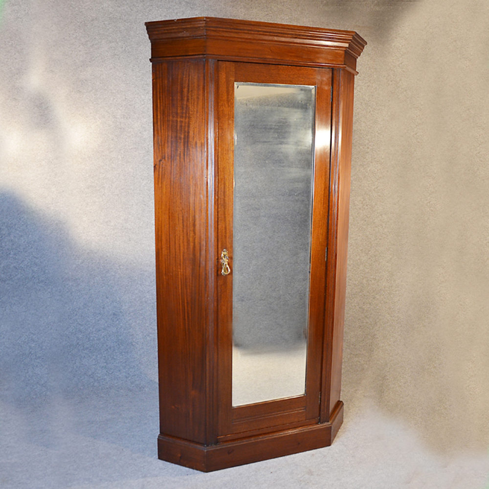 Merveilleux Corner Wardrobe Lobby Hall Coat Cupboard Cloak Antique ...