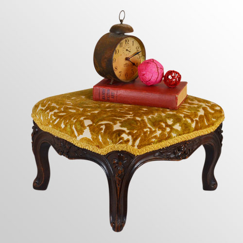 Antiques Bentwood Footstool Or Gout Stool.