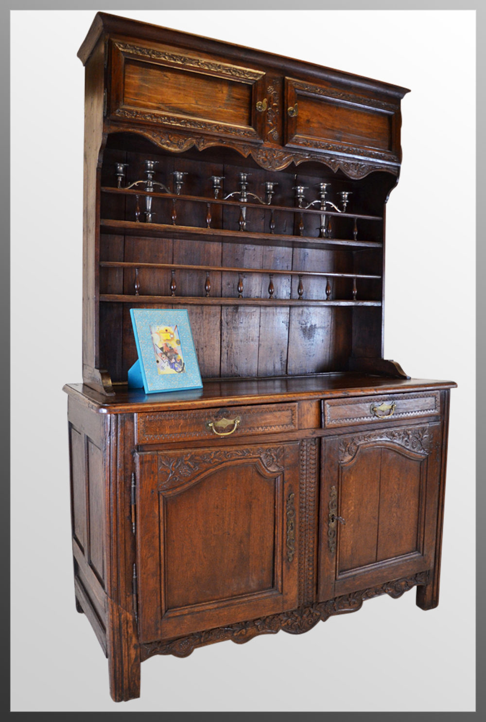 French Country Dresser Kitchen Buffet Cabinet Antique ... - French Country Dresser Kitchen Buffet Cabinet - Antiques Atlas