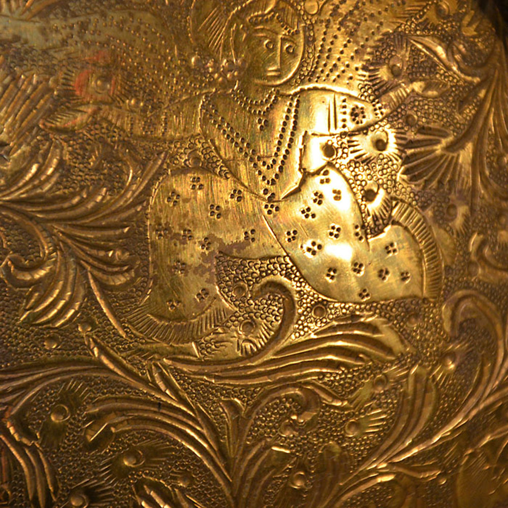 Antiques atlas large brass vase engraved urn asian oriental large brass vase engraved urn asian oriental antique brass planters alt5 reviewsmspy