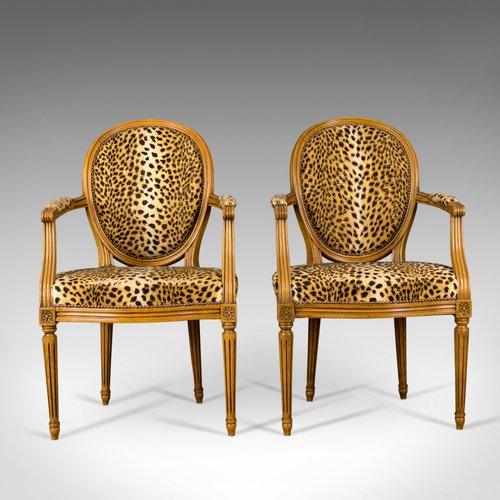 Antiques Atlas - Mid 20th Century Pair Of French Open Armchairs 49486944b