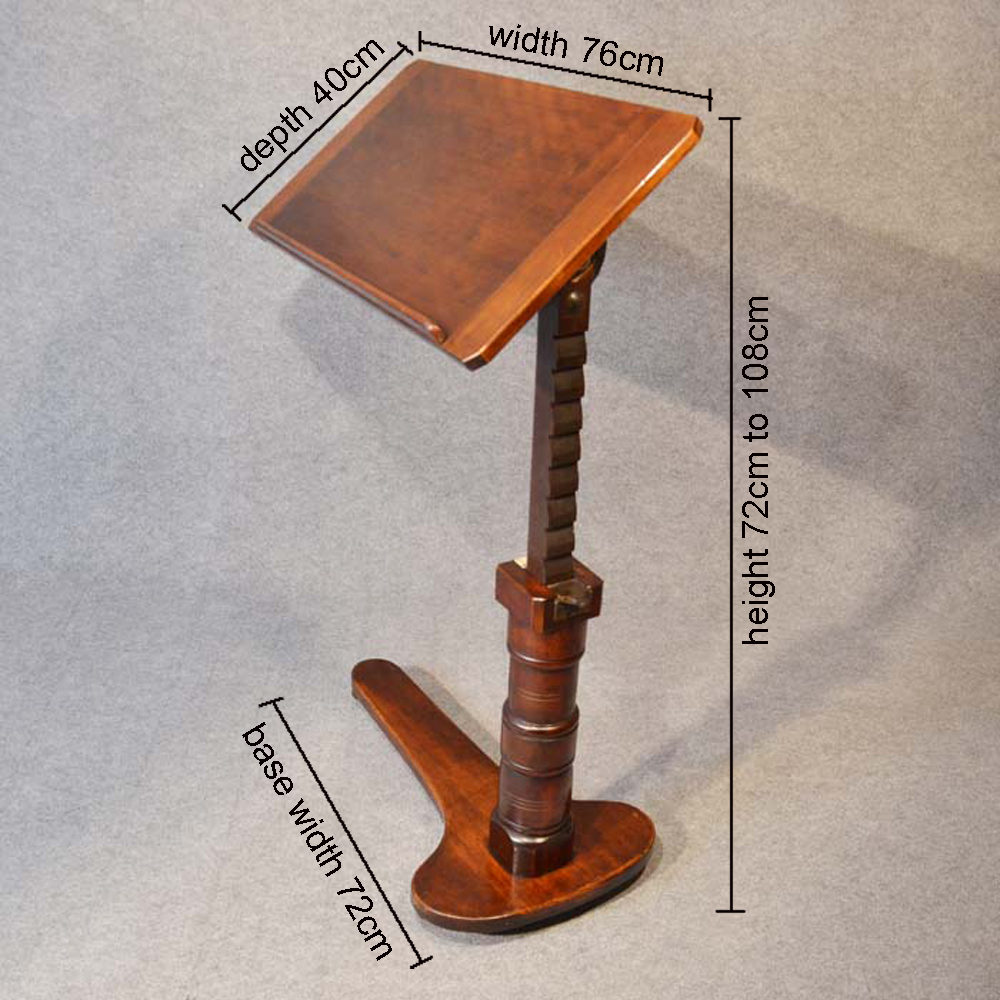 Reading Table Lectern Stand Leveson Amp Sons Antiques Atlas