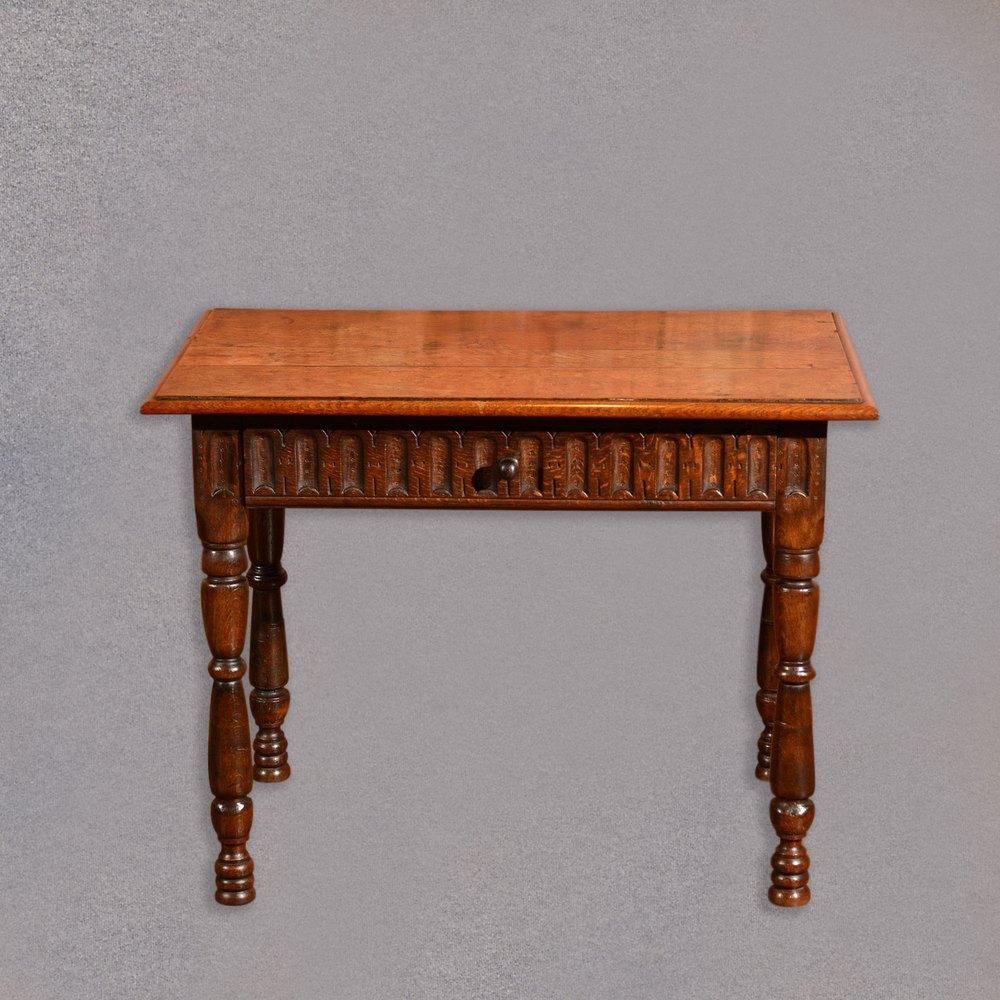 Victorian Oak Side Table C1860 Antiques Atlas