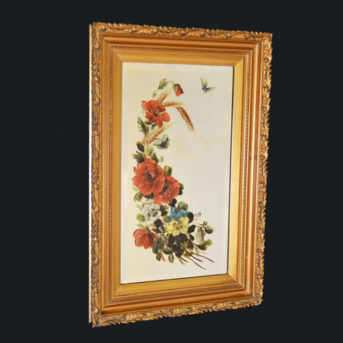 Antiques Atlas Wall Mirror Victorian Painted Looking Glass