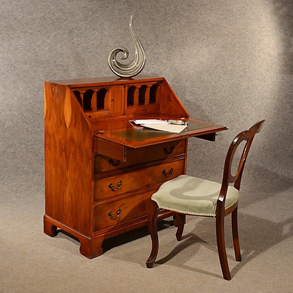 bureau english Yew Bureau Writing Study Desk Quality English ...
