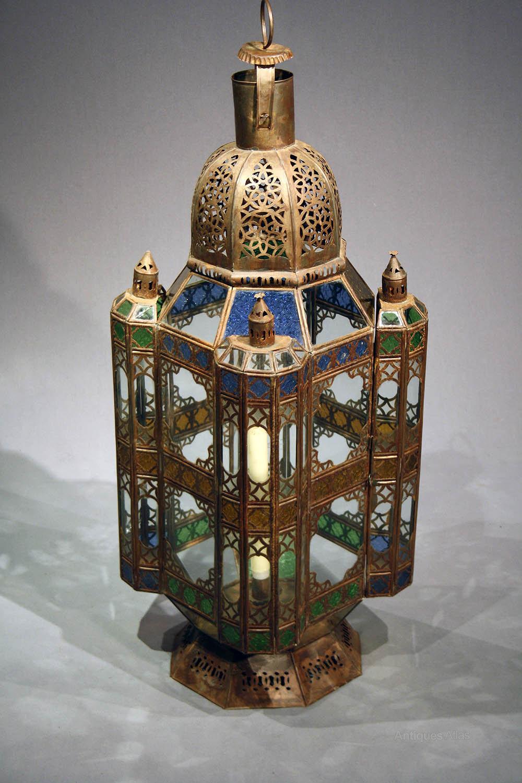 Antiques Atlas Large Moroccan Lantern