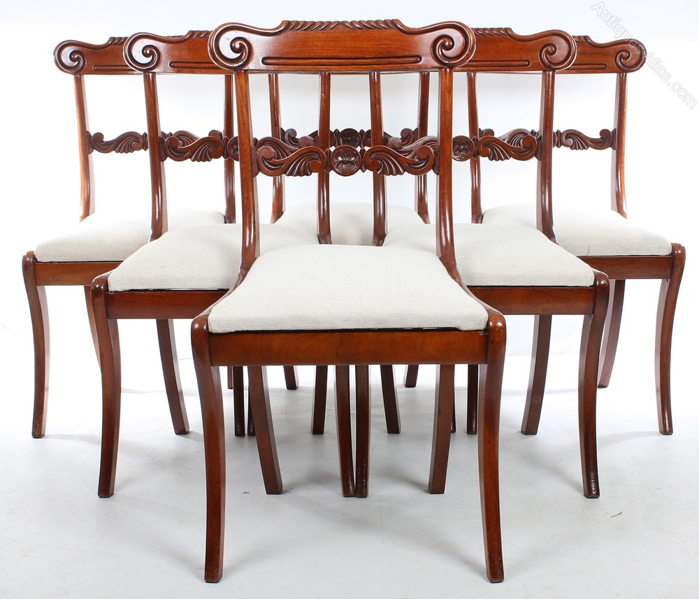 Mahogany Chairs Dining Set Of 8 Mahogany Dining Chairs