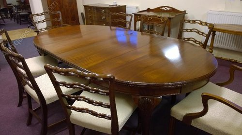 Good Clean Mahogany Dining Table Cabriole Leg Antiques Atlas