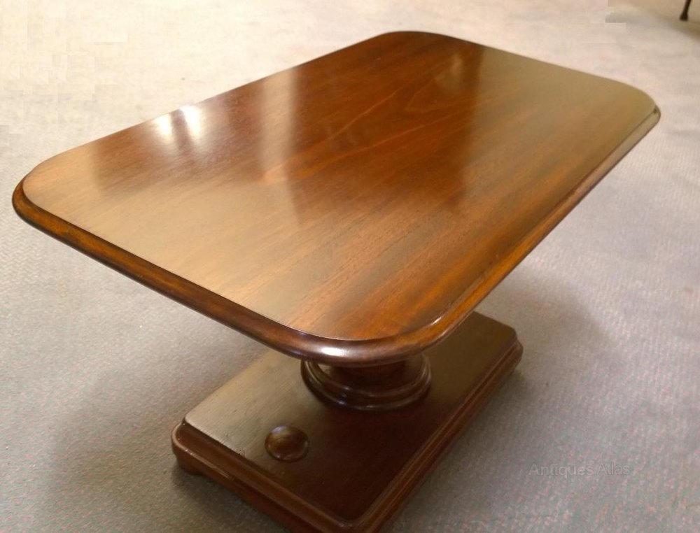 Unusual 19th c mahogany side table coffee table antiques for Unique end tables and coffee tables