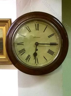 Antiques Atlas Round Face Wall Clock