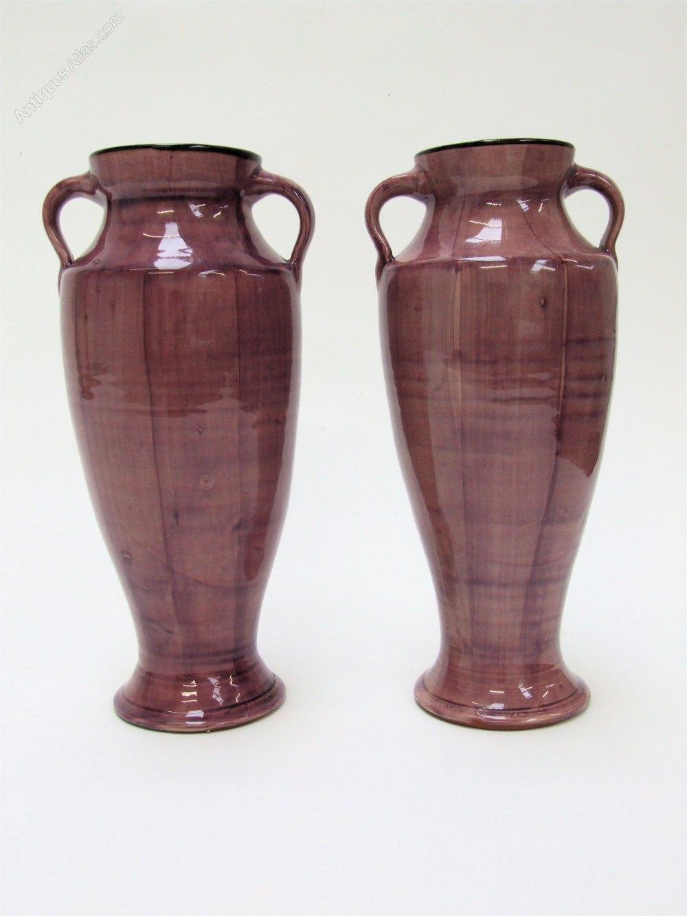 Antiques atlas superb pair lemon crute art pottery bird vases pottery bird vases other makers reviewsmspy