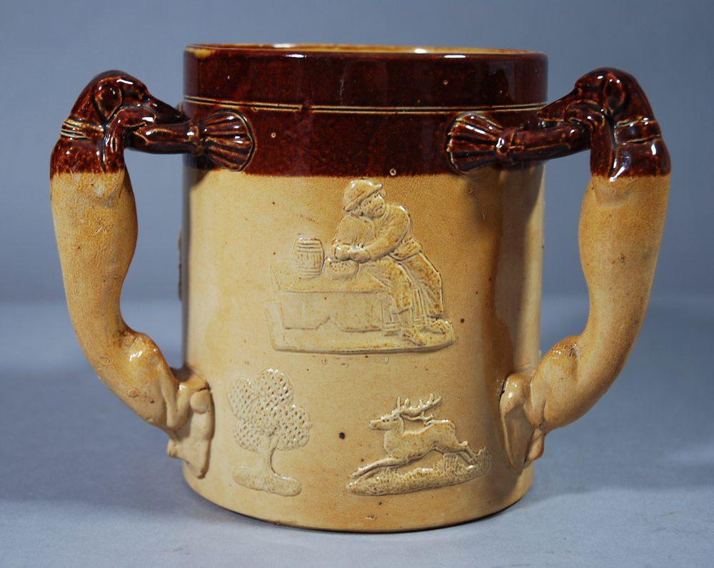 Antiques Atlas Royal Doulton Lambeth Stoneware Tyg
