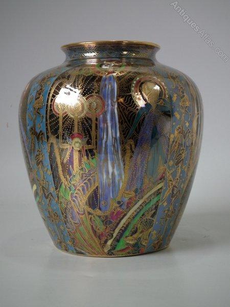 Wedgwood Fairyland Lustre Candlemas Vase Antiques Atlas