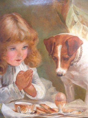 Burton Oil Painting