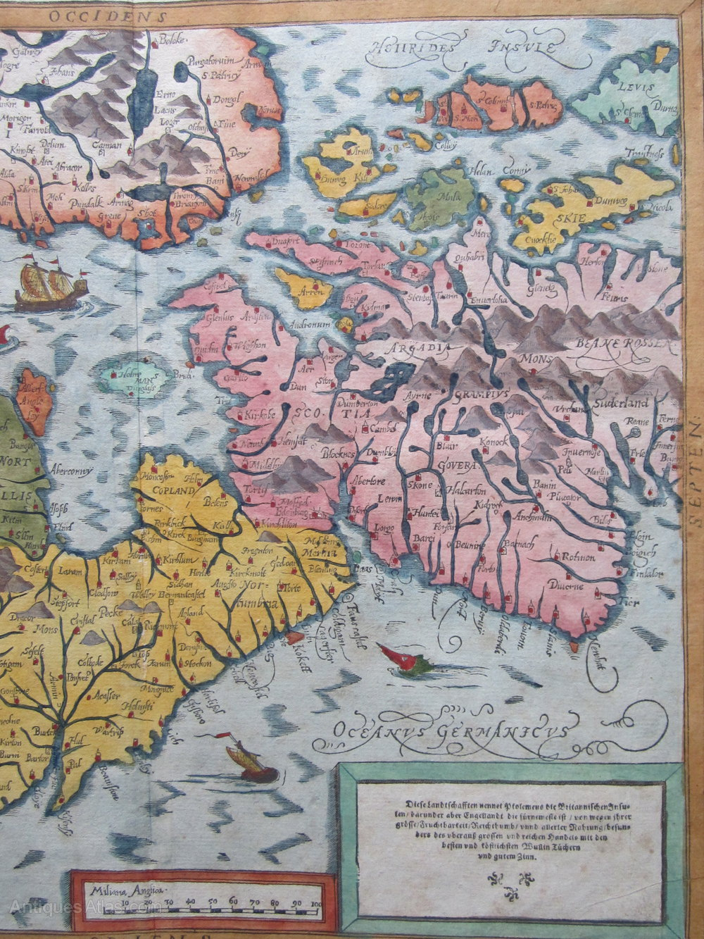 Antiques Atlas Map Of Great Britain By Munster - Antique map dealers