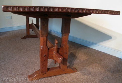 Country Oak Refectory Dining Table Country / Farmhouse Tables ...