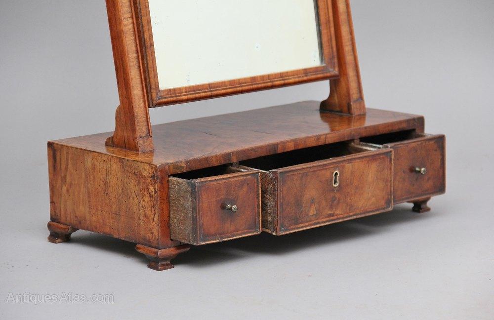 Antiques Atlas 18th Century Walnut Dressing Table