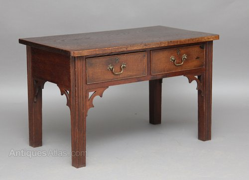 Strange Gothic Oak Side Table Antiques Atlas Download Free Architecture Designs Xerocsunscenecom