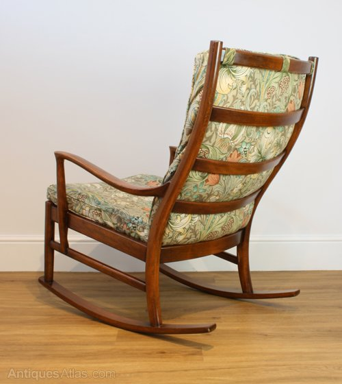 Awe Inspiring Antiques Atlas A Parker Knoll Florian Rocking Chair Onthecornerstone Fun Painted Chair Ideas Images Onthecornerstoneorg