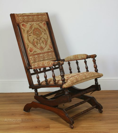 An American Rocking Chair Antique ... - An American Rocking Chair - Antiques Atlas