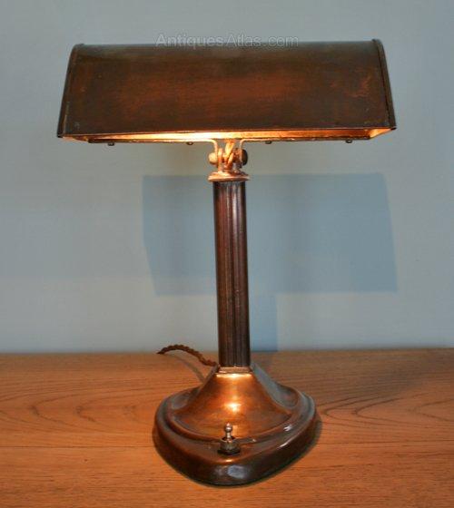 Antiques Atlas An Arts Amp Crafts Copper Desk Lamp