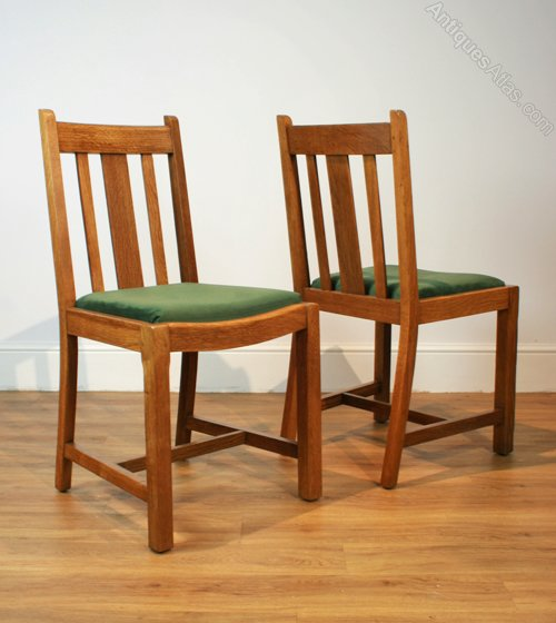 Six 1930s Oak Dining Chairs By Heal S Antiques Atlas