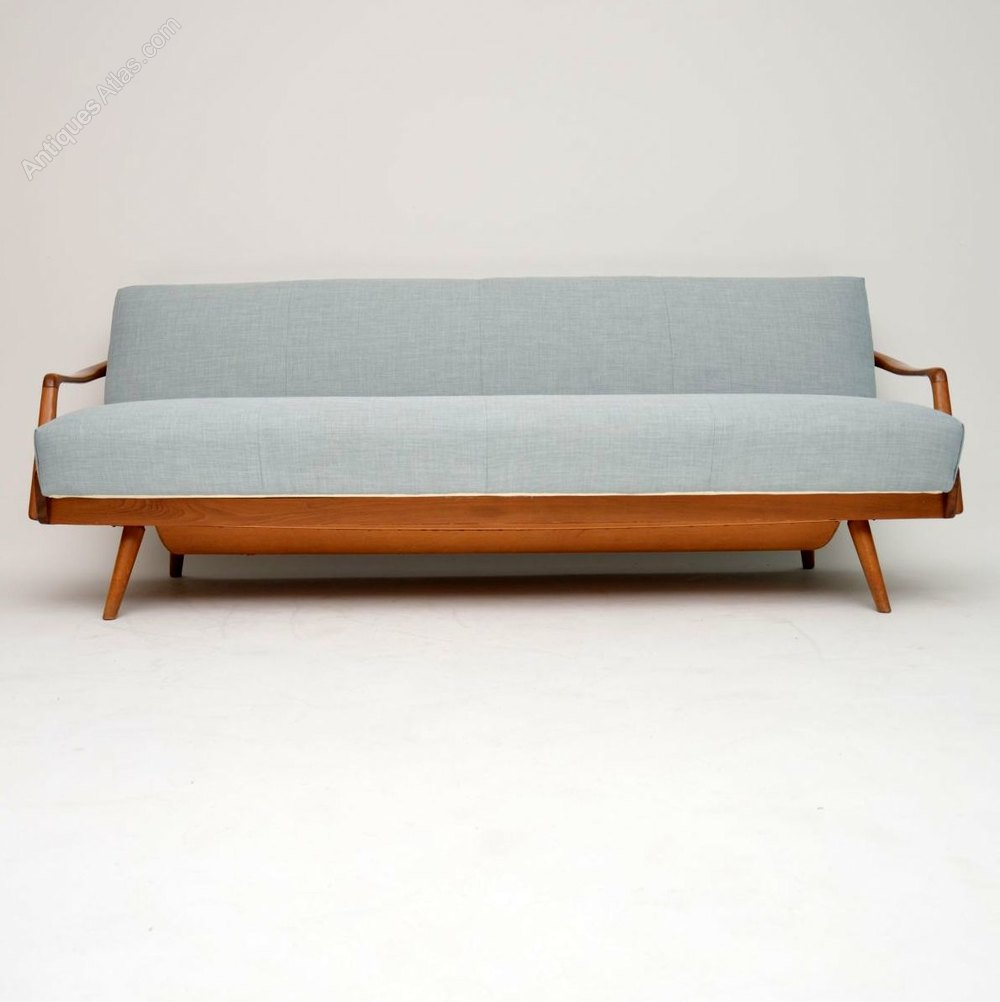 1950 S Vintage French Sofa Bed Antique Daybeds