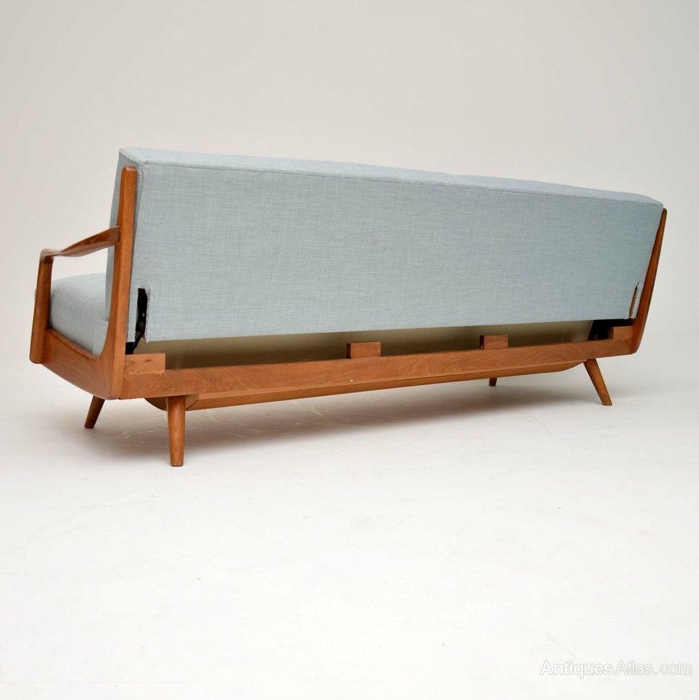 1950 S Vintage French Sofa Bed Antique Daybeds Alt5 Alt6