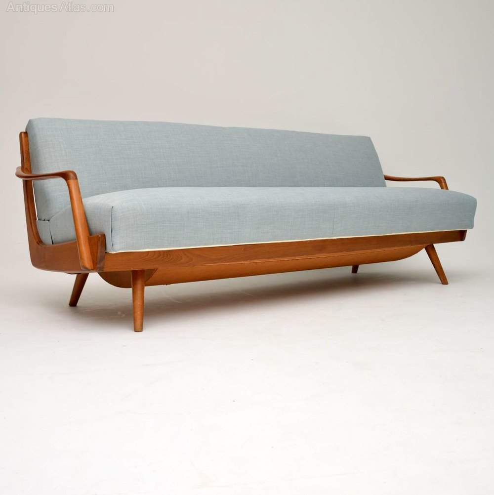 1950 S Vintage French Sofa Bed