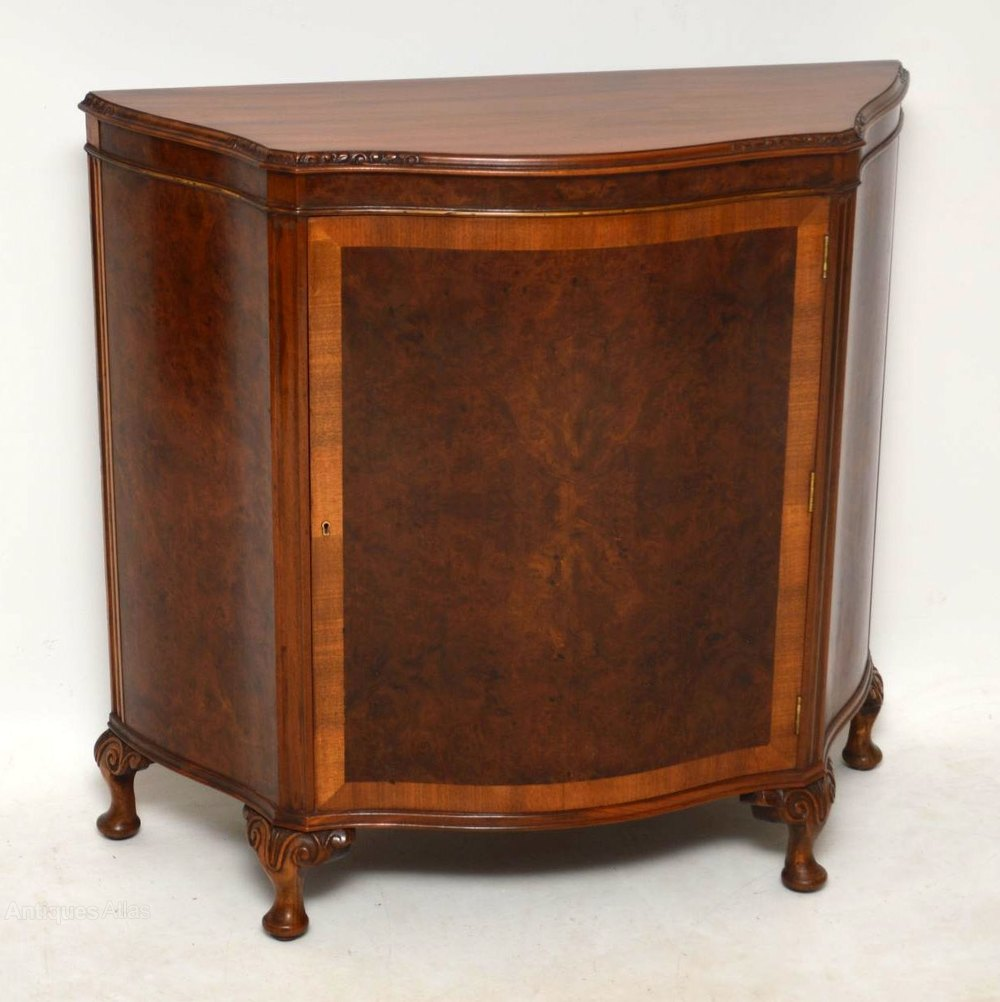 Antique Burr Walnut Cabinet