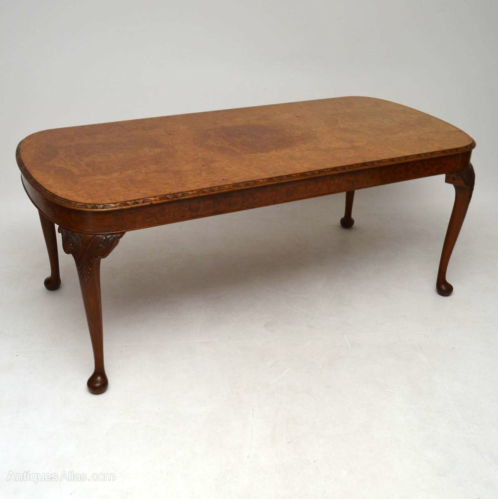 Antique Burr Walnut Dining Table Amp Six Chairs Antiques Atlas