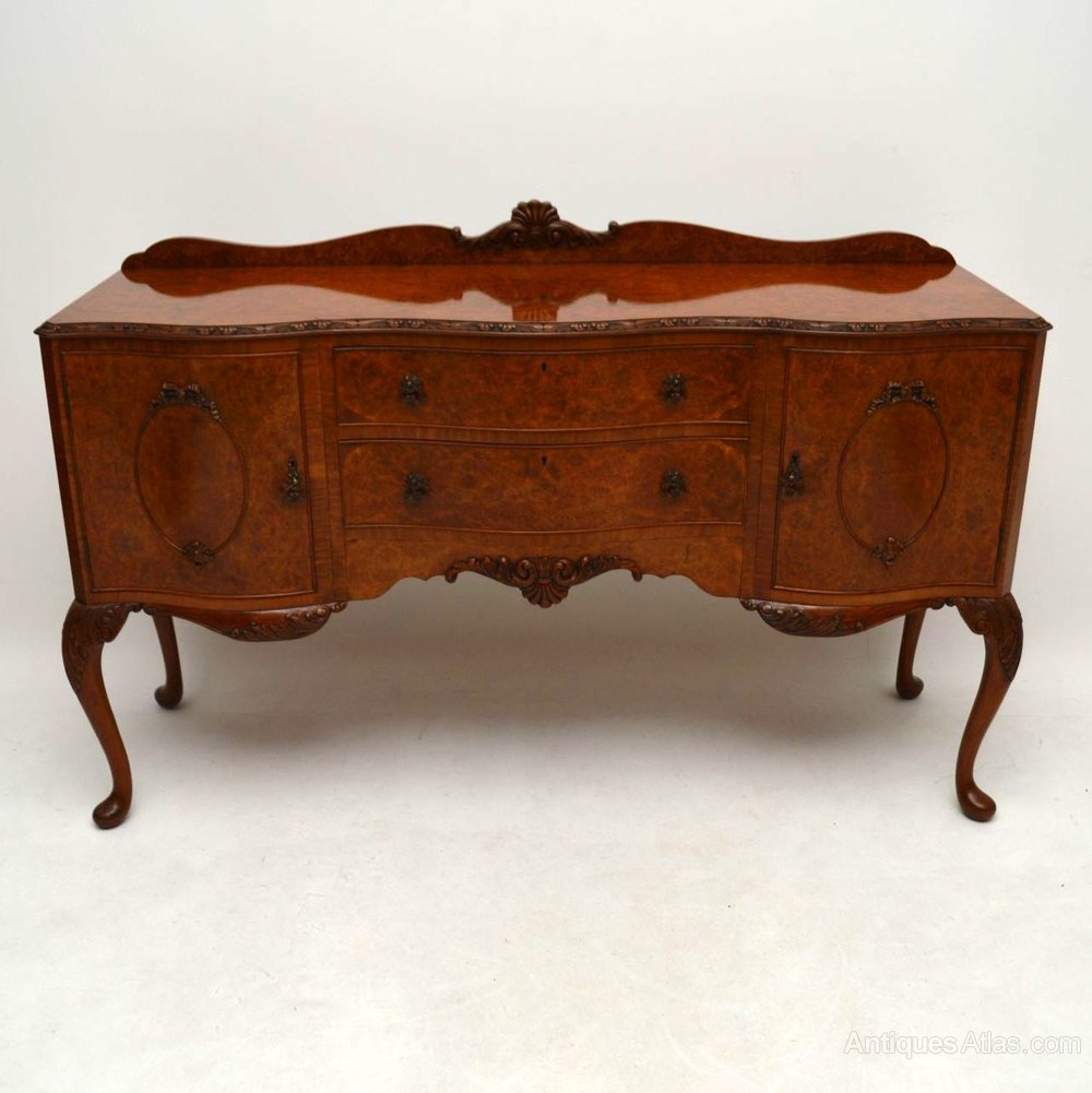Antiques atlas antique burr walnut queen anne style for Queen anne style