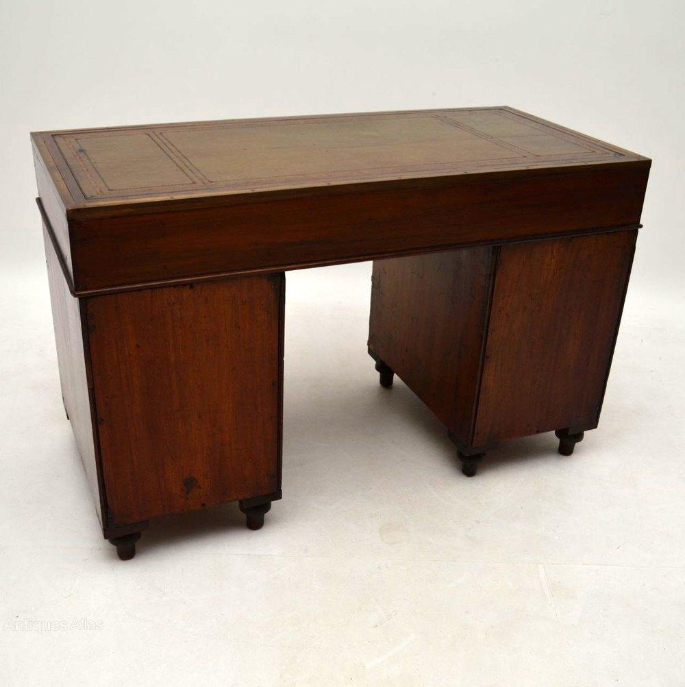 Antique Gany Military Campaign Desk Desks Alt5 Alt6